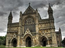 Free Cathedral HDR Royalty Free Stock Images - 19458859