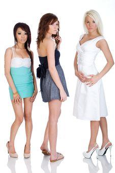 Free Dress Fashion Friends Stock Photos - 19458993
