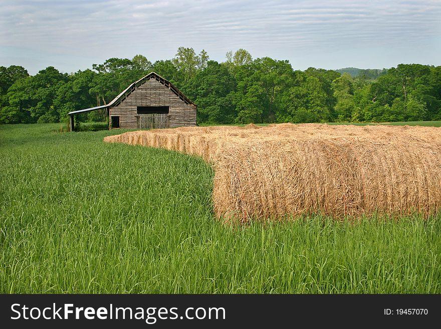 Barn & Hay Rolls