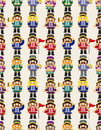 Free Cartoon Toy Soldier Seamless Pattern Royalty Free Stock Photography - 19460497