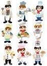 Free Cartoon Chef Icon Stock Images - 19460504