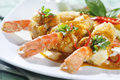Free Red Curry Shrimp Fried Royalty Free Stock Images - 19461059
