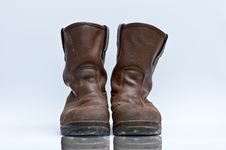 Free A Pair Of Muddy Boots Royalty Free Stock Photos - 19460568