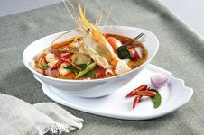 Free Red Curry Shrimp Royalty Free Stock Images - 19461089
