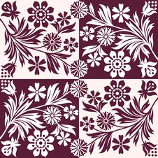 Free Floral Pattern Royalty Free Stock Photos - 19462338