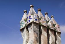 Free BARCELONA. Casa Batllo Stock Photography - 19462742