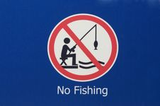 Free No Fishing Sign Stock Images - 19463274