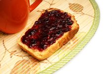 Free Bread With Jelly Royalty Free Stock Photography - 19463337