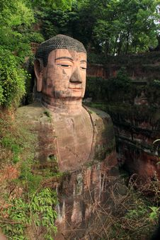 Free Leshan Giant Buddha Stock Photos - 19463373