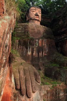 Leshan Giant Buddha Royalty Free Stock Photos