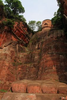 Free Leshan Giant Buddha Royalty Free Stock Images - 19463469