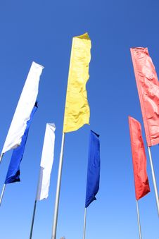 Free May Day Flags Royalty Free Stock Image - 19463686