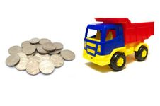 Free Money For Truck Stock Image - 19463791