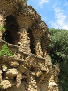 Free Park Guell Royalty Free Stock Images - 19463849