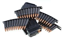 Free AK 47 Ammo With Mag Stock Images - 19464344
