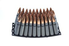 Free AK 47 Ammo With Mag Stock Images - 19464384