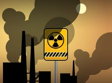 Free Nuclear Danger Warning Stock Photos - 19464453