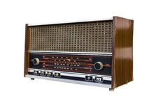 Free Old Radio Isolated1 Stock Photo - 19464750