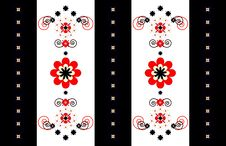 Free Pattern Decorative Vertical Ornament Stock Image - 19465461