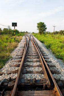 Free Railway To Success. Royalty Free Stock Image - 19465696