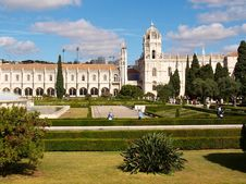 Free Monastery Of Jeronimos Stock Image - 19465921