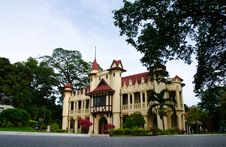 Sanam Chan Palace, Nakhon Pathom Province, Thailan Royalty Free Stock Photos