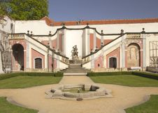 Prague Castle Gardens Royalty Free Stock Photo