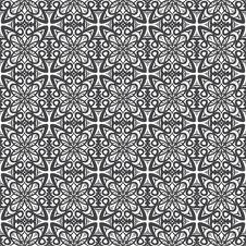 Free Seamless Damask Pattern Royalty Free Stock Photo - 19467065
