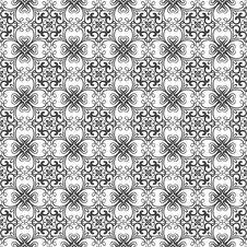 Free Seamless Damask Pattern Stock Image - 19467131