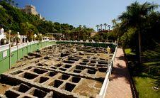 Ancient Roman Salt Factory Royalty Free Stock Photo