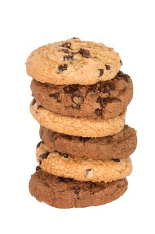 Free Chocolate Chips Cookies Royalty Free Stock Photography - 19468017