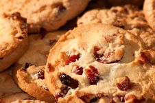 Free Chocolate Chip Cookies Background Royalty Free Stock Photo - 19468405