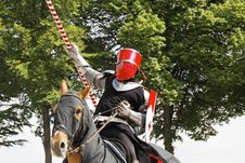 Free Medieval Castle Knights Tournament Stock Image - 19468421