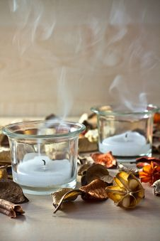 Free Candle Smoke. Stock Photos - 19468623