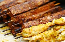 Free Barbecue Meat Royalty Free Stock Photos - 19468648