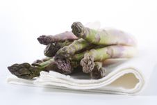 Free Raw Asparagus Stock Photography - 19469362