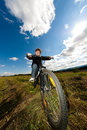 Free Young Boy Cycling Royalty Free Stock Photos - 19470168