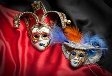 Free Venetian Mask Royalty Free Stock Photography - 19470647
