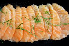 Free Salmon Seshimi Royalty Free Stock Images - 19470829