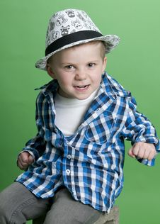 Free Cute Personality Kid Stock Photography - 19470922