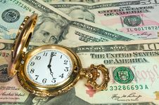 Free Time Is Money Royalty Free Stock Photography - 19471017