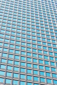 Free Modern Glass Skycraper Wall Stock Images - 19471264