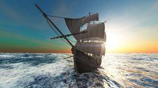 Free Sailing Boat Royalty Free Stock Photo - 19472065