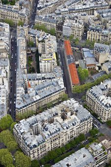 Free Center Of Paris From The Top Stock Images - 19472374