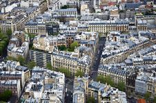 Free Center Of Paris Royalty Free Stock Photo - 19472405