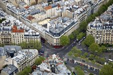 Free Center Of Paris Stock Photography - 19472432