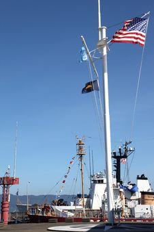 Free US Coast Guard Ship & Marine Monument. Stock Photography - 19472982