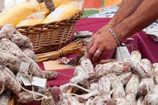 Free Salami Chopping Stock Photos - 19473783