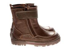 Children S Winter Shoes Stock Image