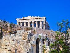 Free Parthenon Temple In Acropolis At Athens, Greece Stock Photo - 19473990